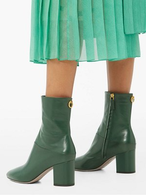 Valentino ringstud leather ankle boots