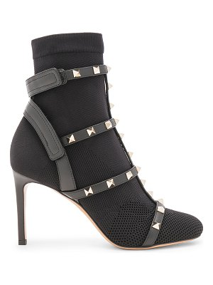 Valentino Rockstud Bodytech Caged Ankle Boots