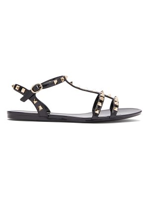 Valentino rockstud caged jelly sandals