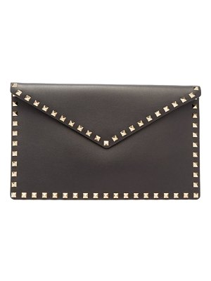 Valentino rockstud large envelope clutch