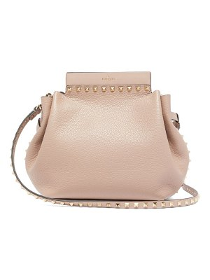 Valentino rockstud leather cross body bag