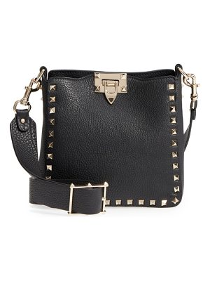Valentino rockstud mini hobo crossbody bag