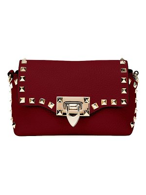 Valentino Rockstud Mini Leather Crossbody Bag