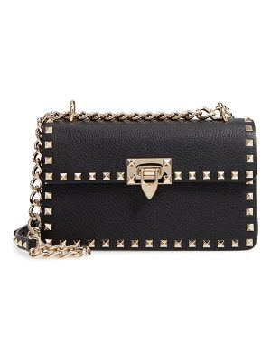 Valentino rockstud small leather crossbody bag