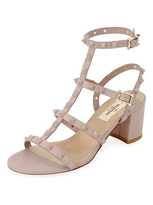 Valentino Rockstud Smooth Calf Sandals