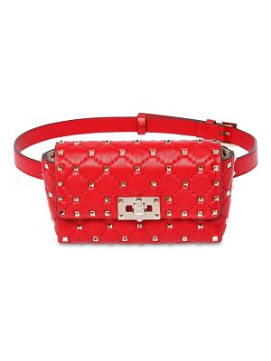 Valentino Rockstud spike leather belt bag