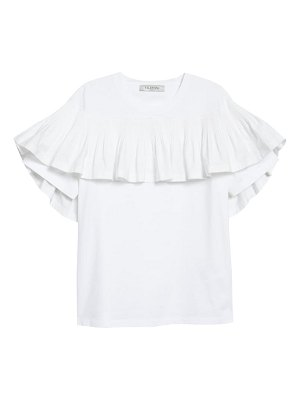 Valentino ruffle cotton t-shirt