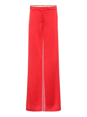 Valentino satin trousers