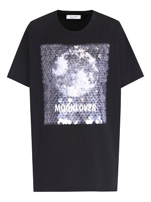 Valentino sequin-embellished cotton t-shirt