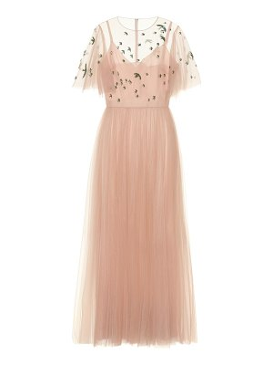 Valentino sequined tulle gown