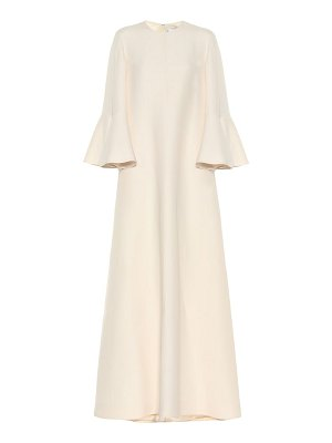 Valentino silk and wool gown