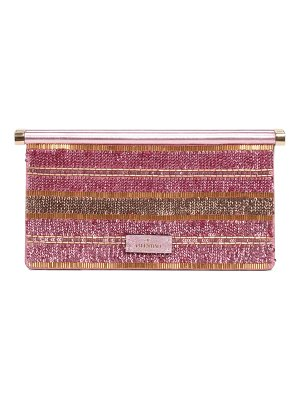 Valentino small carry secrets embellished clutch