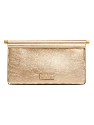 Valentino small carry secrets leather clutch