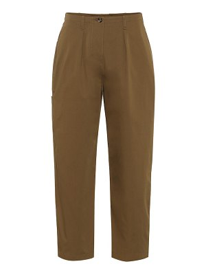 Valentino stretch cotton twill pants