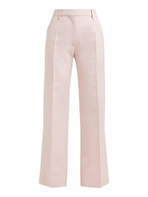 Valentino tailored virgin wool blend trousers