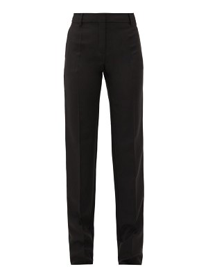 Valentino tailored wool-blend trousers