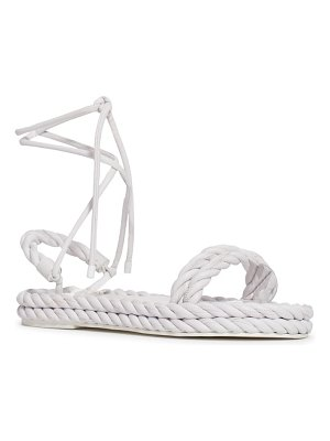Valentino the rope platform sandal