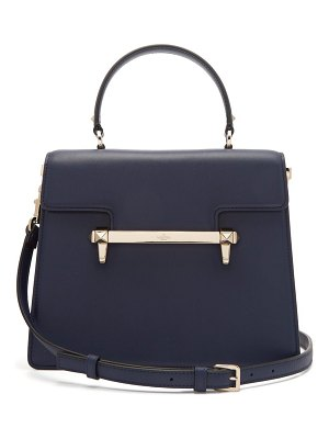 Valentino uptown leather top handle bag