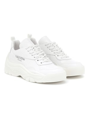 Valentino valentino garavani leather sneakers