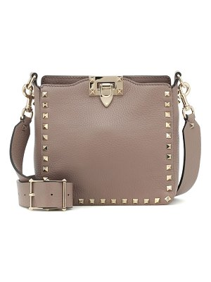Valentino valentino garavani rockstud mini leather shoulder bag