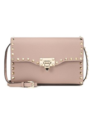 Valentino valentino garavani rockstud small leather shoulder bag