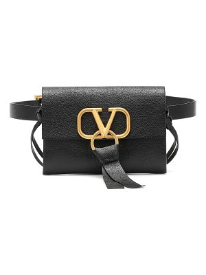 Valentino valentino garavani vring leather belt bag