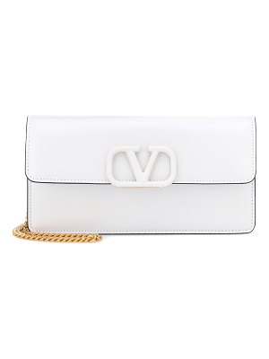 Valentino valentino garavani vsling leather clutch