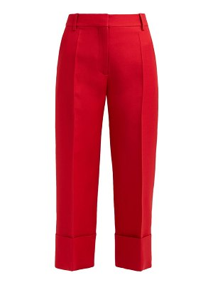 Valentino virgin wool blend cropped trousers