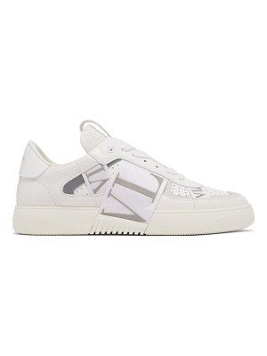 Valentino vl7n logo-embossed leather trainers