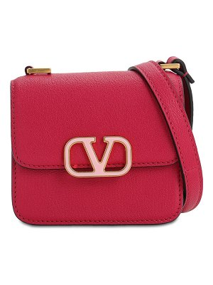 Valentino Vsling micro grained leather bag