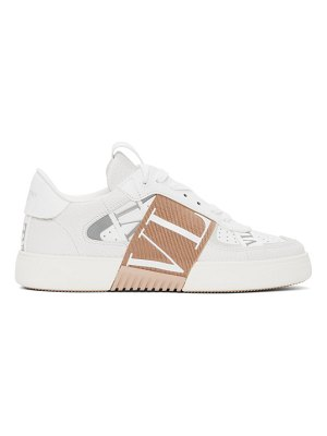 Valentino white and pink  vl7n sneakers