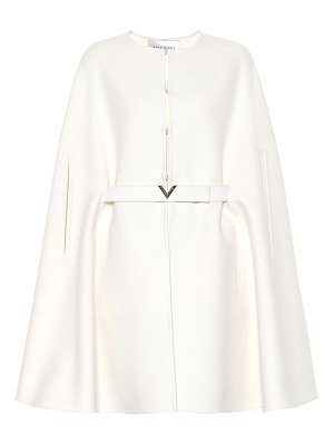 Valentino Wool and cashmere cape