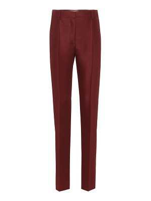 Valentino Wool and mohair straight pants