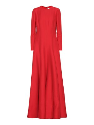 Valentino Wool and silk gown
