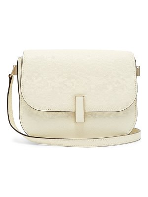 VALEXTRA iside cross body grained leather bag