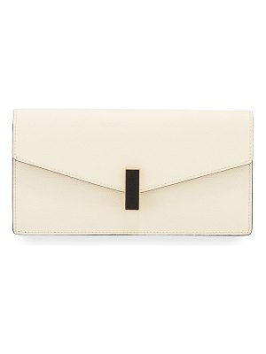 VALEXTRA Iside Leather Clutch Bag
