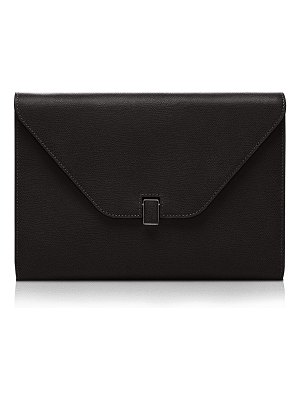 VALEXTRA Leather Tablet Cover/Clutch Bag