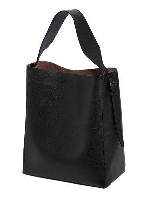 VALEXTRA Medium leather hobo bag