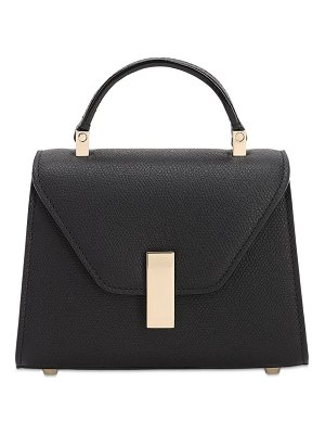VALEXTRA Micro iside grained leather bag