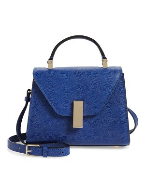 VALEXTRA micro iside leather top handle/crossbody bag