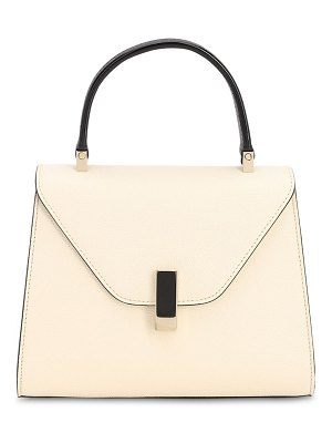 VALEXTRA Mini iside bcolor grained leather bag