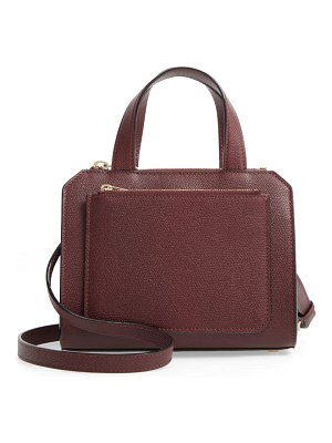 VALEXTRA mini passepartout leather satchel