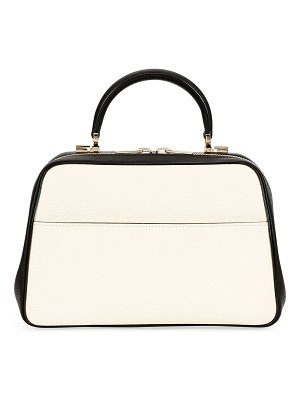 VALEXTRA Saffiano Medium Top Handle Bag