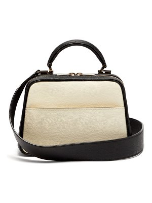 VALEXTRA serie s small grained leather shoulder bag