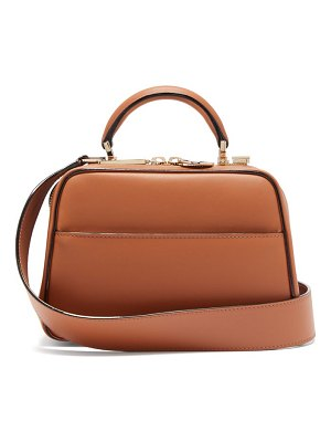 VALEXTRA serie s small smooth-leather bag