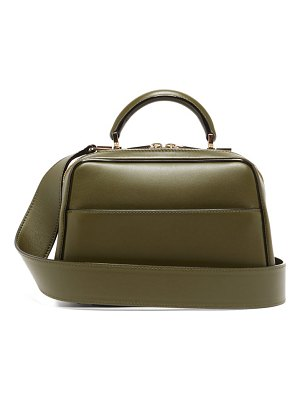 VALEXTRA serie s small smooth leather shoulder bag