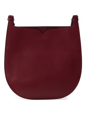 VALEXTRA Textured Small Hobo Bag