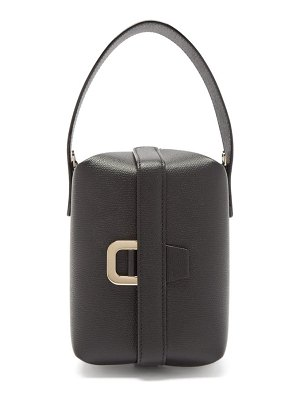 VALEXTRA tric trac saffiano-leather bag