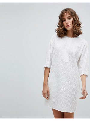 Vanessa Bruno Athe Vanessa Bruno Shift Dress in Broderie Anglaise