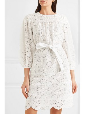Vanessa Bruno lindia broderie anglaise cotton dress